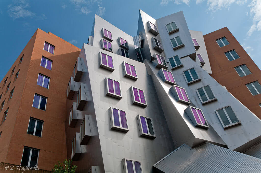 Frank Gehry designed the Ray and Maria Stata Center.