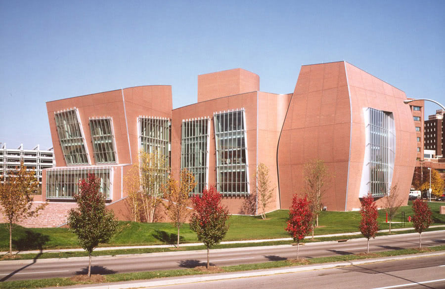Frank Gehry designed the building that is now the Vontz Center for Molecular Studies.