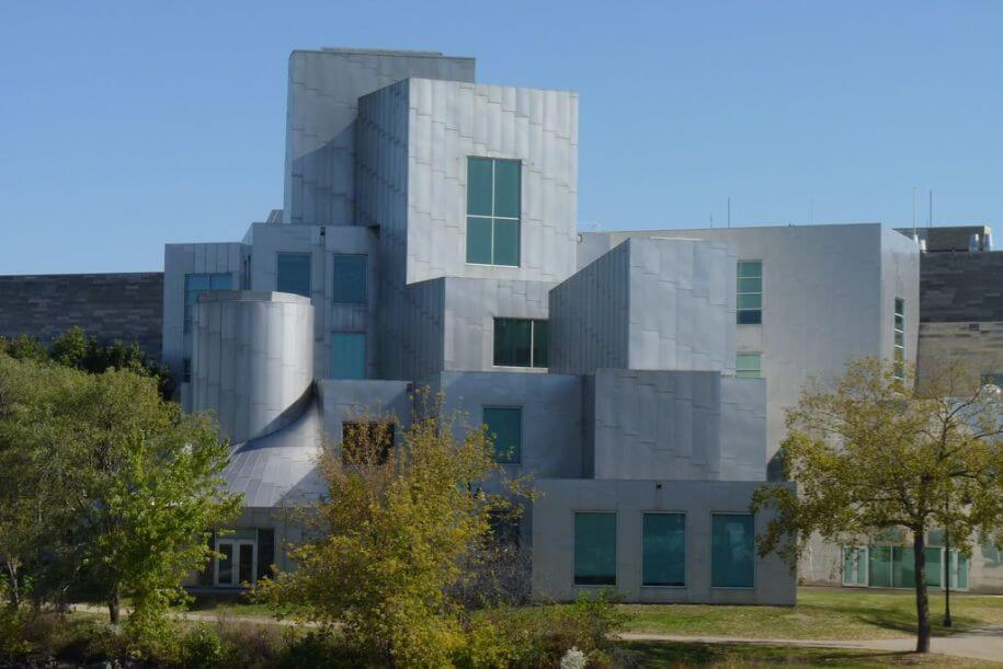 Frank Gehry designed the Iowa Advanced Technology Laboratories.