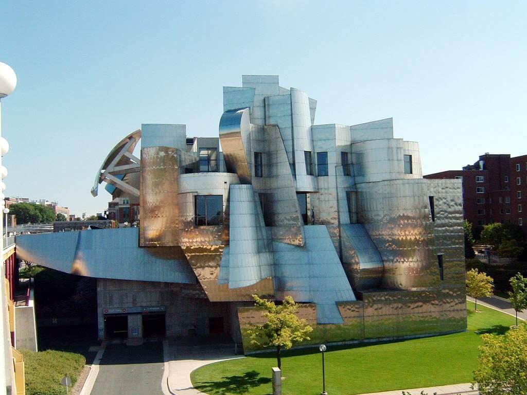 Frank Gehry designed the Weisman Art Museum.