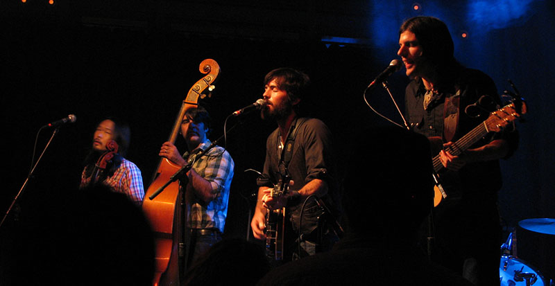 The Avett Brothers playing live in Portland, Oregon.