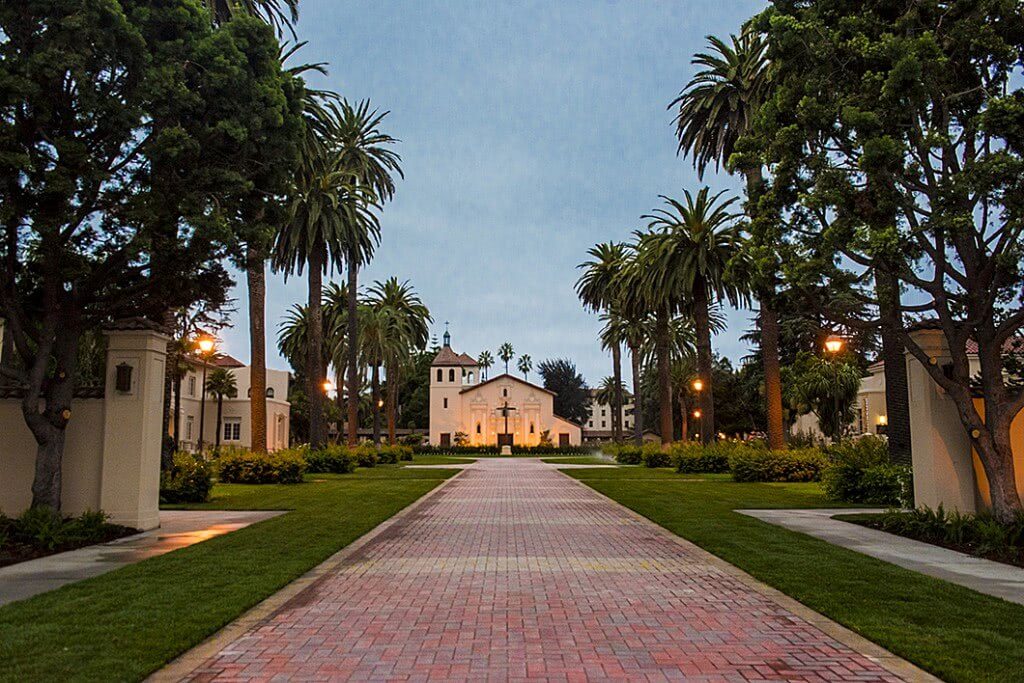 Santa Clara was determined to reach carbon neutrality, making it one of the greenest college campuses.