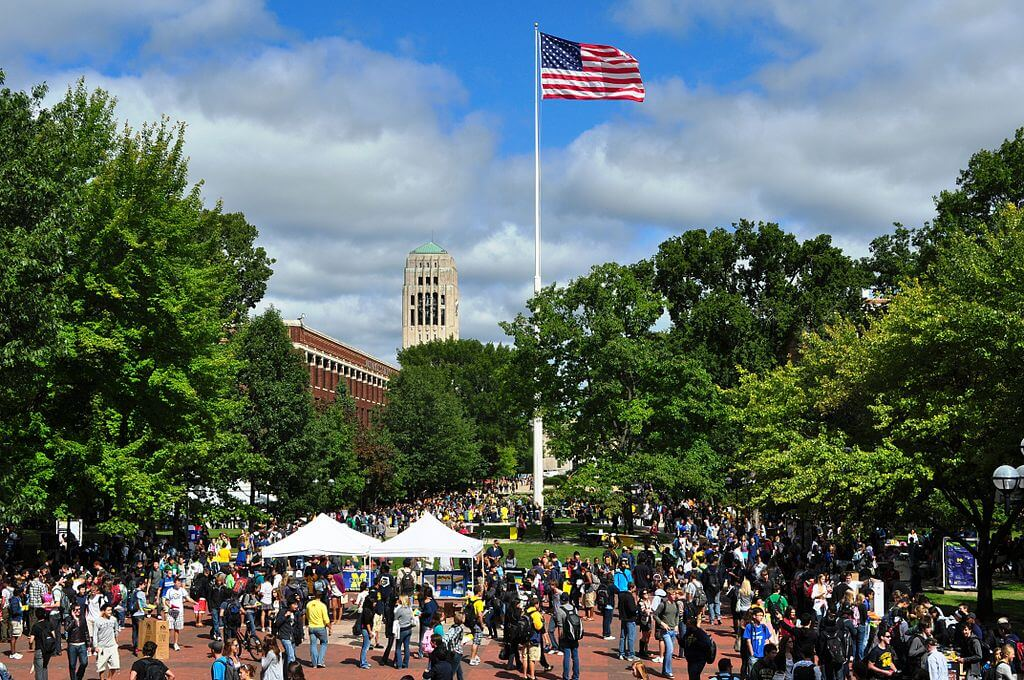 University of Michigan - Best Large Colleges