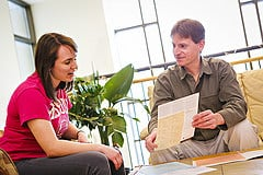 Part of college admission is meeting the faculty and developing relationships with your advisors.