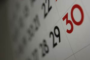 Find a calendar or something else to help you get organized. The college admission process can sneak up on you