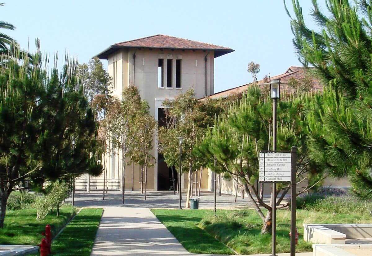 Student Center Building at Soka University of America.