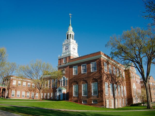 Dartmouth College - Best Private Colleges