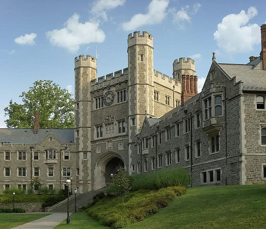 Blaire Hall at Princeton University on a sunny day.