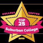 Top 25 Suburban Colleges