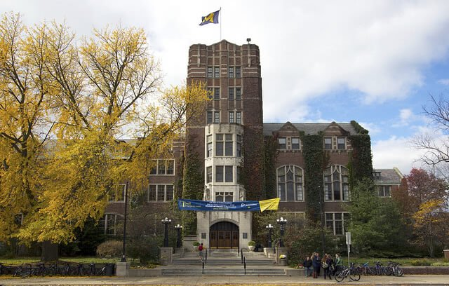 The University of Michigan Ann Arbor is one of the best colleges in the Midwest