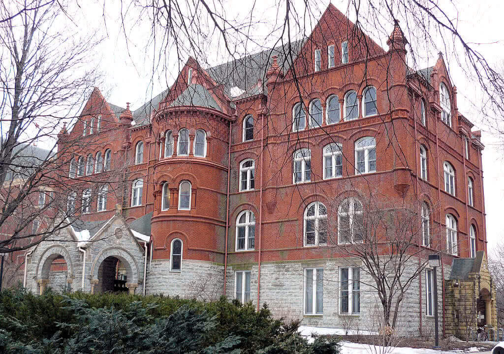Macalester College is one of the best colleges in the Midwest