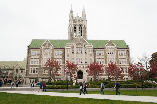 Boston College and the ACT and SAT scores you need