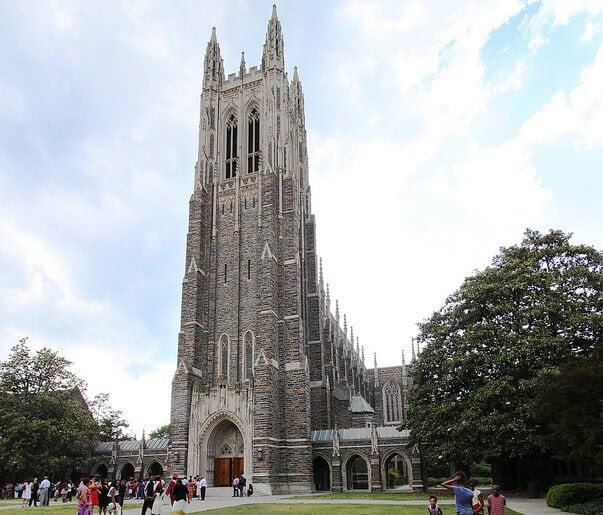 Duke University Chapel building.