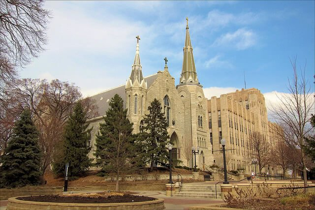Creighton University is one of the best colleges in the Midwest