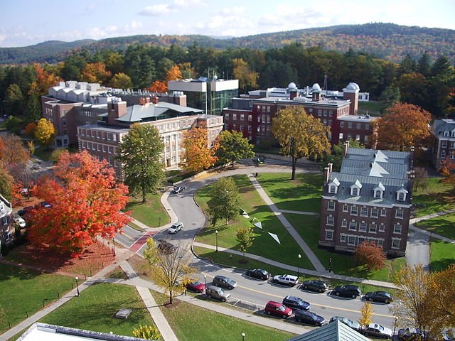 Sherman Fairchild Sciences complex at Dartmouth College.