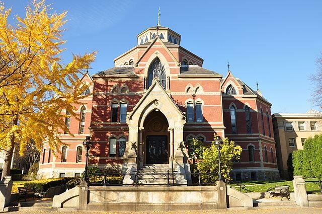 Brown University Robinson Hall.
