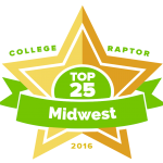 Top 25 Midwest Colleges