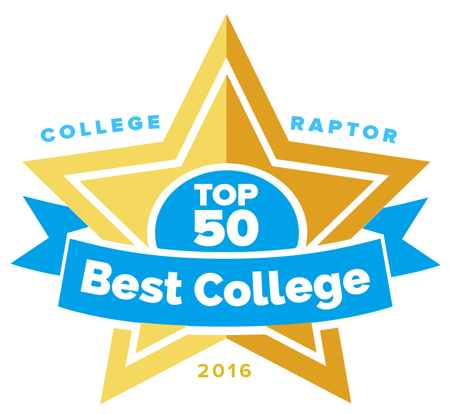 College Raptor's 2016 Top 50 Best Colleges