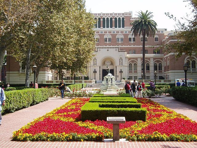 University of Southern California USC and what scores you need