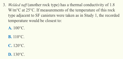 ACT science section - example of a question