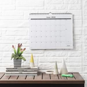 2019-2020 Nekmit monthly wall academic year calendar. Click to view its Amazon page.