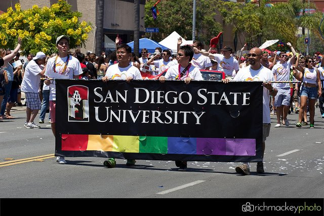 San Diego State University - LGBTQ friendly colleges