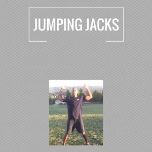 Exercises - jumping jacks
