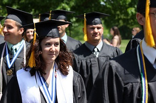 Some students may not try to get a college degree.