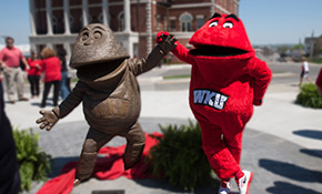 Big Red is one of the weirdest college mascots.