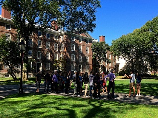 Take time over the summer to visit colleges! It's one of many summer activities