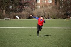Unique sports - ultimate frisbee