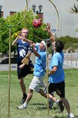 Unique sports - quidditch