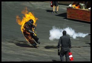Flickr user aj-clicks - Stunt person