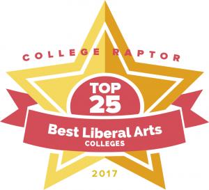 College Raptor's 2017 Top 25 Best Liberal Arts Colleges