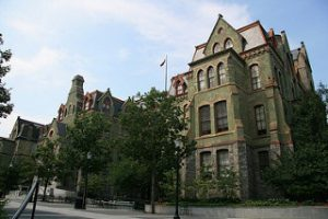 A building at the University of Pennsylvania campus - Best Colleges in the Northeast