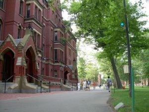 original harvard college yard