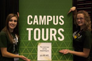 What will happen during your college tour?