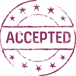 accepted stamp sign
