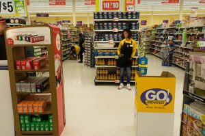 Great summer job - grocery store employee