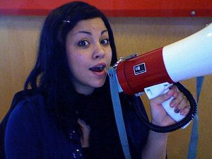 You can use a megaphone to declare something, but what about declaring your major right away?