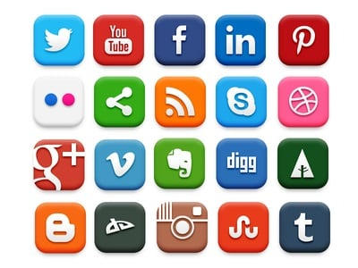 How does social media and college influence each other?