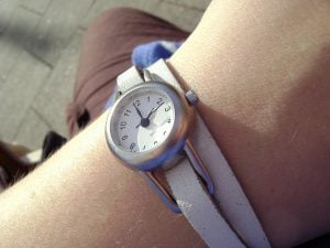 You should wear a watch to your SAT or ACT test session.