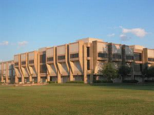 A Norfolk State University campus building.