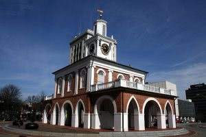 The Market House in Fayetteville, North Carolina.