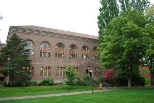 Western Washington University library building.