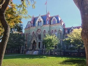 College Hall at the University of Pennsylvania.