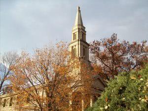 Exterior view of Chapel at Principia College.