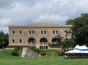 Gymnasium on the St. Paul campus of the University of Minnesota-Twin Cities.