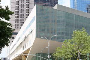 The Juilliard School building.