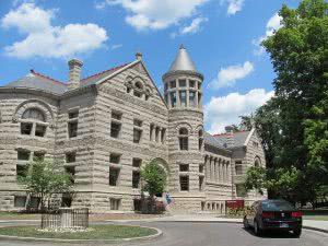 Maxwell Hall at Indiana University Bloomington.